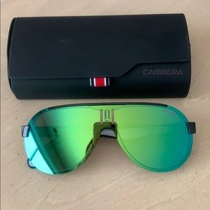 CARRERA 1008/S - OVERSIZED PILOT SUNGLASSES